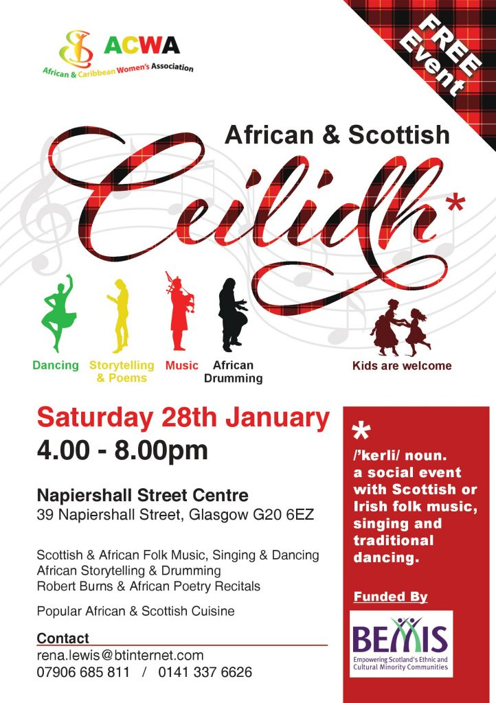 African and Scottish Ceiledh