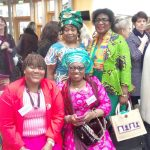ACWA Women in Edinburgh parliament in March 2018 for International Women's Day celebration