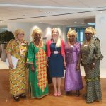 ACWA women in Brussels at the European Commission